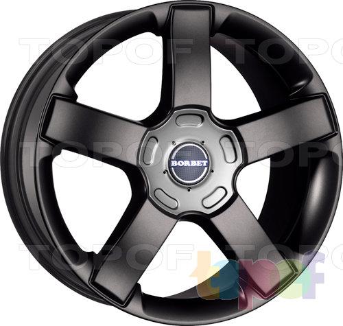 Колесные диски Borbet BSU. Изображение модели #1