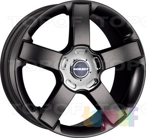 Колесные диски Borbet BSU. Изображение модели #2