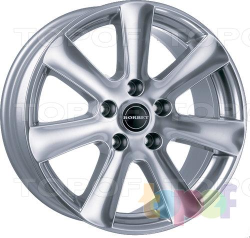 Колесные диски Borbet CA. Полированный
