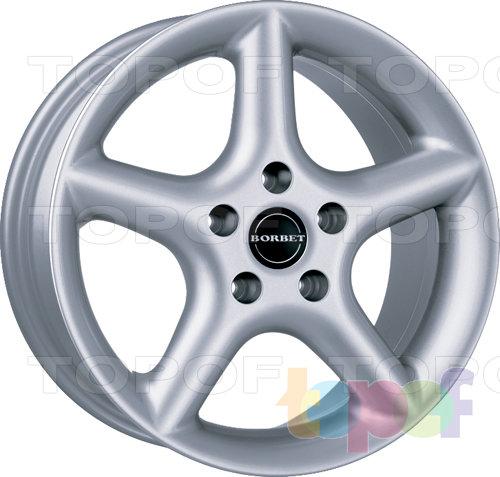 Колесные диски Borbet CF. Изображение модели #1
