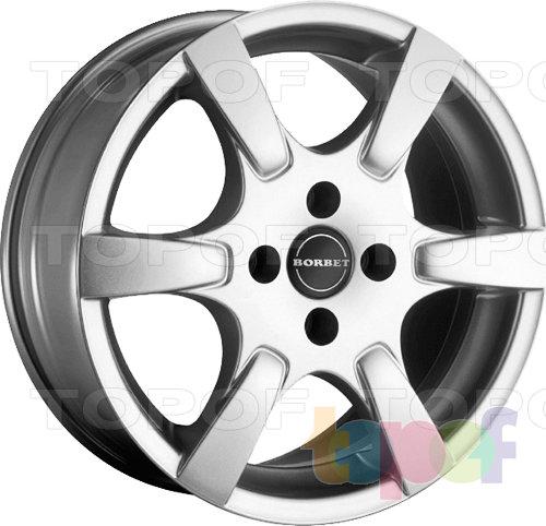 Колесные диски Borbet CR. Изображение модели #1