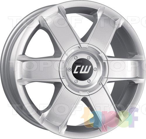 Колесные диски Borbet CWA. Изображение модели #1