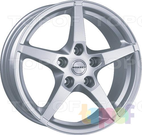 Колесные диски Borbet FS. Изображение модели #1