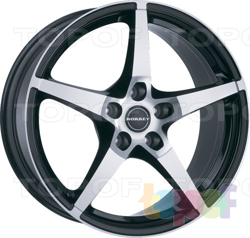 Колесные диски Borbet FS. Изображение модели #2
