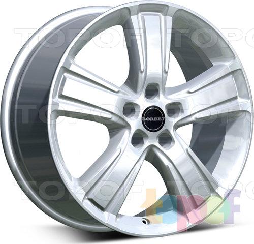 Колесные диски Borbet MA. Изображение модели #1