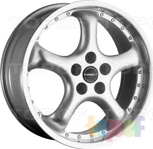 Колесные диски Borbet R. Изображение модели #1