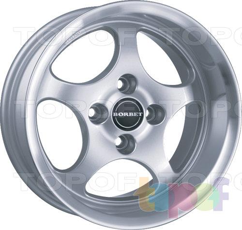 Колесные диски Borbet T. Изображение модели #1