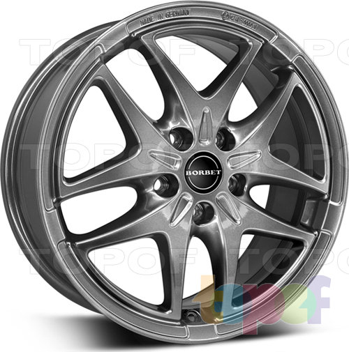 Колесные диски Borbet XB. Изображение модели #1