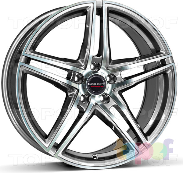 Колесные диски Borbet XR. graphite polished