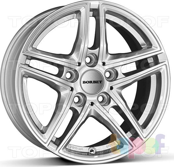 Колесные диски Borbet XR. brilliant silver