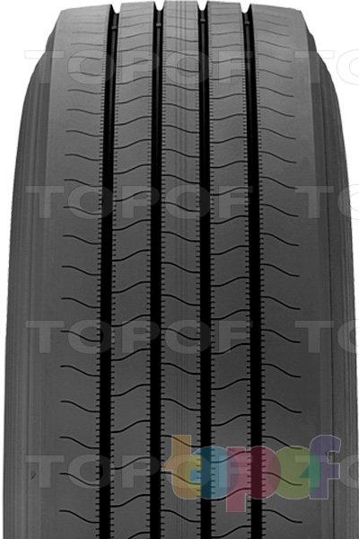 Шины Bridgestone B197 FuelTech. Модель для прицепа грузового автомобиля