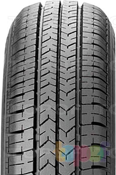 Шины Bridgestone B249. Продольные канавки на протекторе