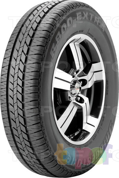 Шины Bridgestone B800 Extra. Дорожная шина для легкового автомобиля