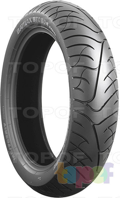 Шины Bridgestone Battlax BT-020. Изображение модели #2
