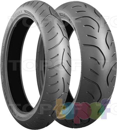 Шины Bridgestone Battlax Sport Touring T30. Для мотоцикла