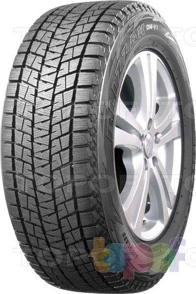Шины Bridgestone Blizzak DM-V1. Зимняя нешипуемая шина для внедорожника