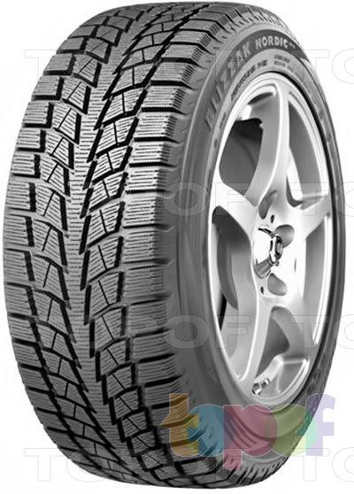 Шины Bridgestone Blizzak Nordic. Нешипуемая шина для легкового автомобиля