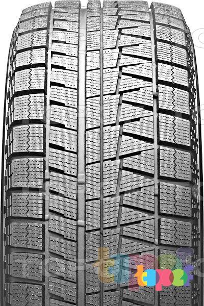Шины Bridgestone Blizzak Revo GZ. Асимметричный рисунок протектора