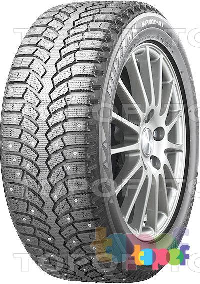 Шины Bridgestone Blizzak Spike-01. Зимняя шина с направленным рисунком протектора