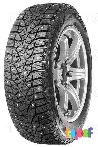 Шины Bridgestone Blizzak Spike-02. Зимняя шина с направленным рисунком протектора