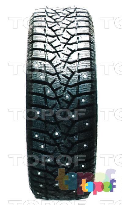 Шины Bridgestone Blizzak Spike-02. Направленный рисунок протектора