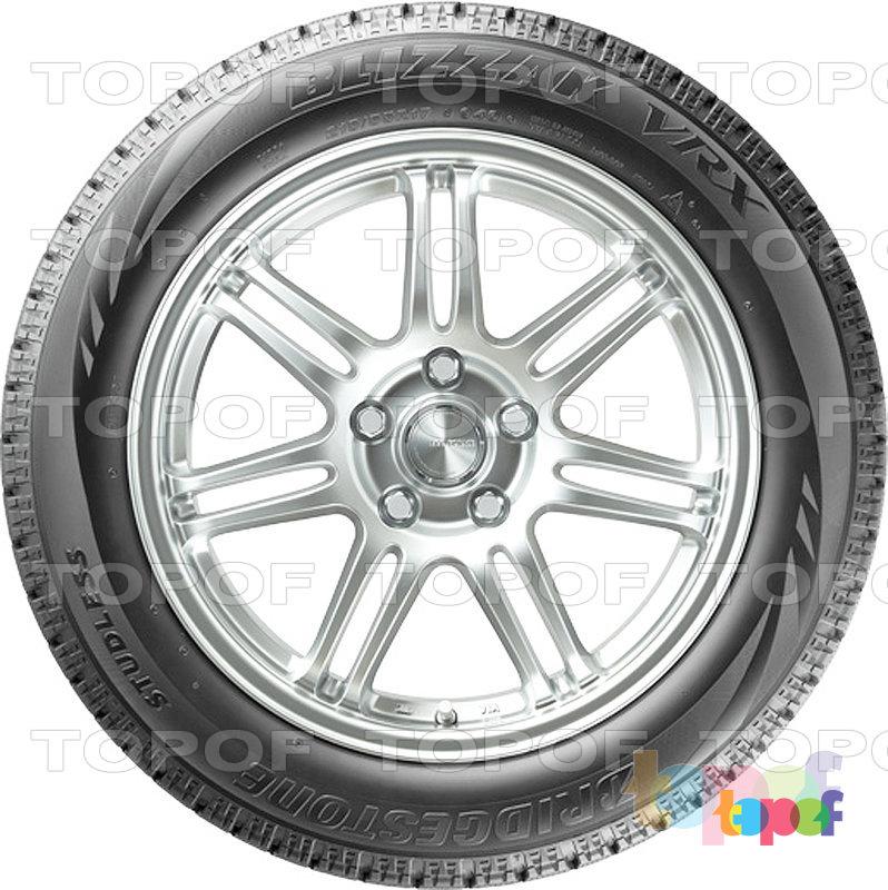 Шины Bridgestone Blizzak VRX. Вид сбоку