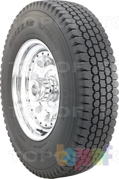Шины Bridgestone Blizzak W965 Multicell. Нешипуемая шина для коммерческого автомобиля