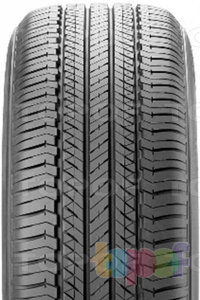 Шины Bridgestone Dueler H/L 400. Продольные канавки на протекторе