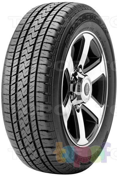Шины Bridgestone Dueler H/L 683. Летняя шина для внедорожника