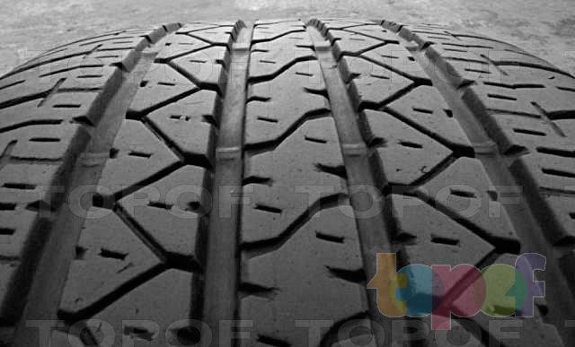 Шины Bridgestone Dueler H/P 92a. Продольные канавки на рисунке протекторе
