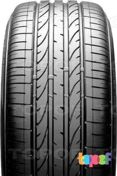 Шины Bridgestone Dueler H/P Sport. Центральное ребро протектора