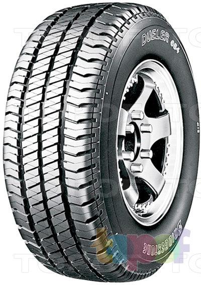 Шины Bridgestone Dueler H/T 684. Летняя шина для внедорожника