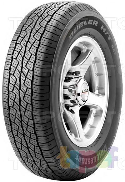 Шины Bridgestone Dueler H/T 687. Летняя шина для внедорожника