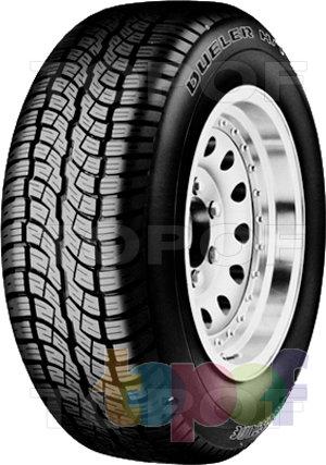 Шины Bridgestone Dueler H/T 687. Изображение модели #1