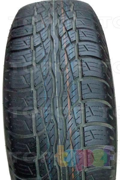 Шины Bridgestone Dueler H/T 687. Центральное ребро на протекторе