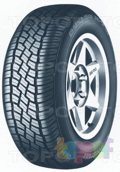 Шины Bridgestone Dueler H/T 688. Летняя шина для внедорожника