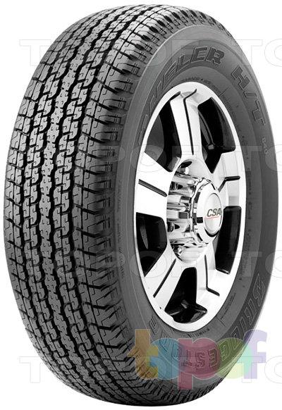 Шины Bridgestone Dueler H/T 840. Всесезонная шина для внедорожника