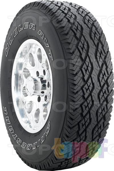 Шины Bridgestone Dueler RVT. Универсальная шина для внедорожника