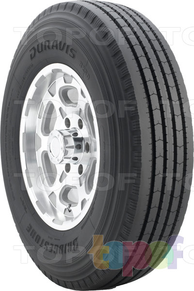 Шины Bridgestone Duravis R250. Универсальная шина для легкогрузового автомобиля