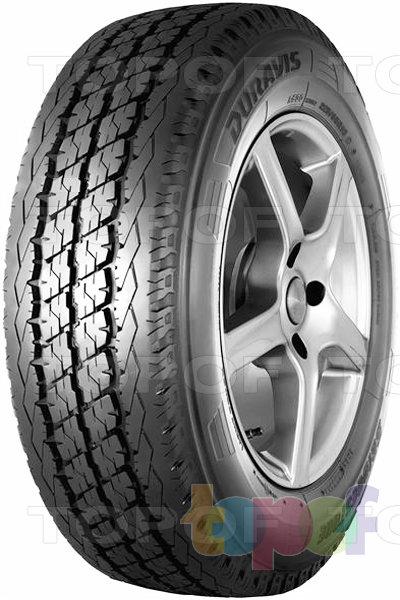 Шины Bridgestone Duravis R630. Широкие продольные канавки