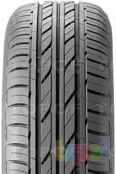 Шины Bridgestone Ecopia EP100. Продольные канавки на протекторе ECOPIA EP100