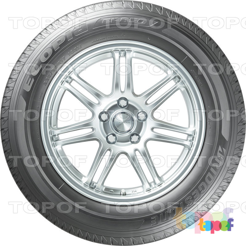 Шины Bridgestone Ecopia EP850. Изображение модели #3