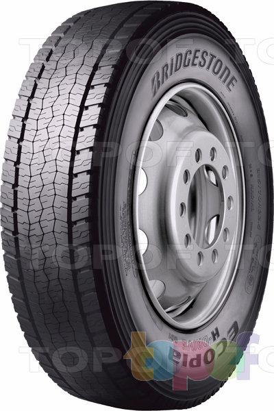 Шины Bridgestone Ecopia H-Drive 001. Шины для дальних перевозок