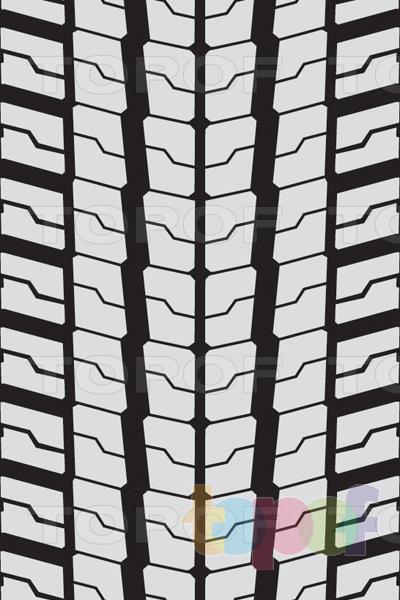 Шины Bridgestone Ecopia M749. Продольные зигзагообразные канавки
