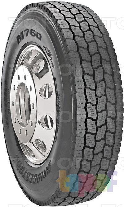 Шины Bridgestone Ecopia M760. Всесезонная шина для грузового автомобиля