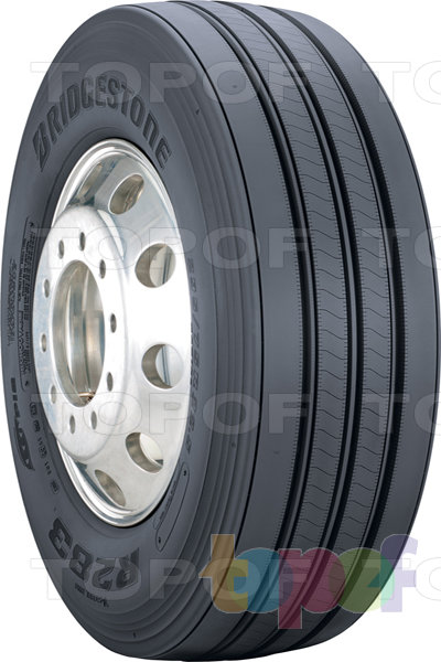 Шины Bridgestone Ecopia R283. Грузовая шина для рулевой оси
