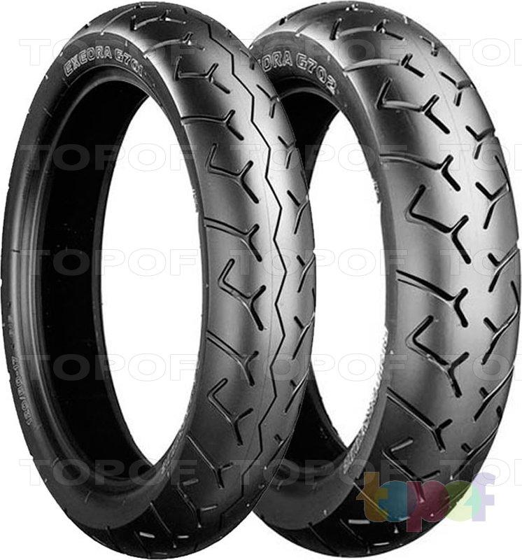 Шины Bridgestone Exedra G701. В паре с шиной Exedra G702
