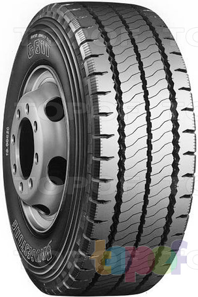 Шины Bridgestone G611. Дорожная шина для грузового автомобиля