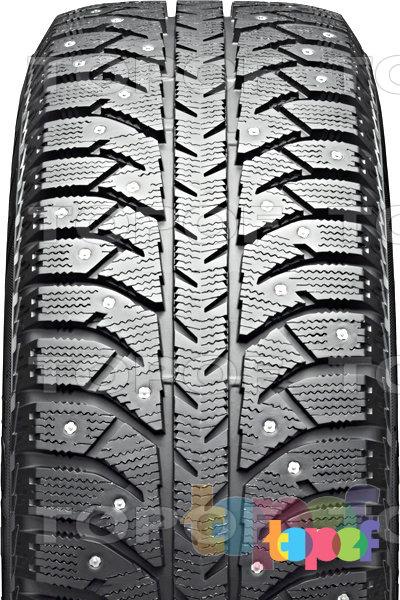 Шины Bridgestone Ice Cruiser 7000. Направленный рисунок протектора