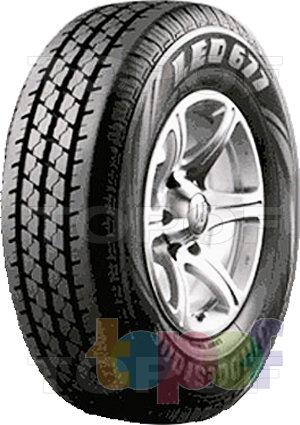 Шины Bridgestone Leo 677. Изображение модели #1